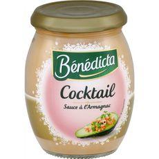 BENEDICTA Sauce cocktail à l'Armagnac 270g