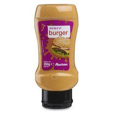 Auchan Sauce burger en squeeze 350g