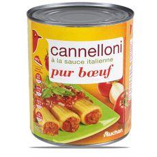 Auchan Cannelloni à la sauce italienne pur bœuf 800g