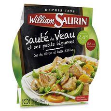 WILLIAM SAURIN Sauté de veau citron légumes 280g