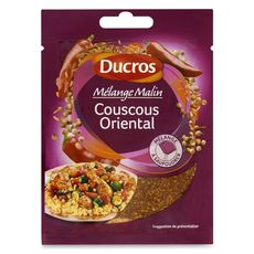 Ducros Mélange d'épices pour couscous oriental 20g