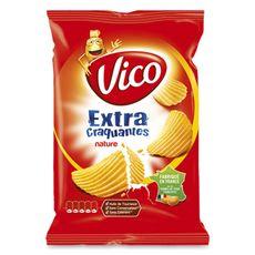 VICO Chips ondulées extra craquantes nature 270g