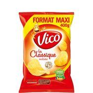 Vico chips la classique salée maxi format 400g