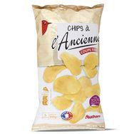 Auchan chips à l'ancienne 150g