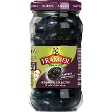 Tramier olive noire dénoyautée grecque bocal 220g