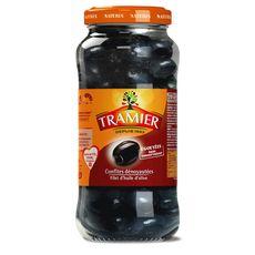 Tramier olives noires confites dénoyautées 250g
