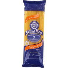 GRAND'MERE Pâtes d'Alsace spaghetti aux œufs frais 500g