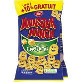 Monster Munch emmental 2x85g +10% gratuits