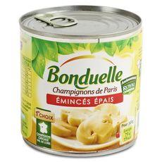 BONDUELLE Bonduelle Champignons de Paris émincés épais au naturel 230g 230g