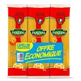 Panzani fantaisie capellini 3x500g offre éco
