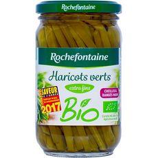ROCHEFONTAINE Haricots verts bio extra fins 180g