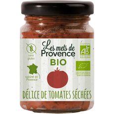 LES METS DE PROVENCE Délice de tomates séchées bio sans gluten cuisiné en France 90g
