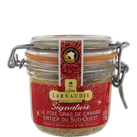 Foie gras canard Larnaudie Entier Signature Bocal - 170g