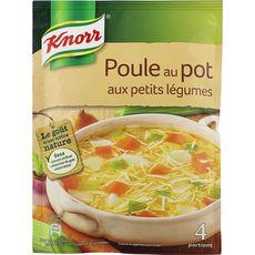 Knorr poule au pot aux petits légumes pour 4 assiettes 72g