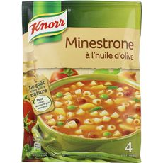 Knorr soupe minestrone à l'huile d'olive 104g 4 portions