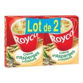 Royco minut soup crème d'asperge x2 -160g