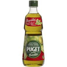 PUGET Puget huile d'olive au basilic 50cl