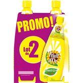 Lesieur fruit d'or huile de tournesol 2x1l promo