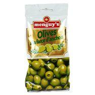 Menguy's olives vertes à la farce d'anchois 150g