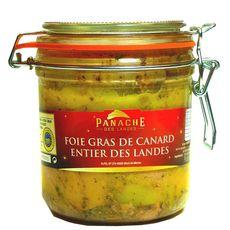 PANACHE DES LANDES Foie gras de canard entier des Landes Sud-Ouest IGP 460g