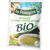 La Potagère velouté de poireaux pommes de terre bio 70g