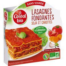 Céréal Bio lasagne sans viande 300g
