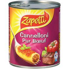 ZAPETTI Cannelloni pur boeuf  800g