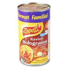 Zapetti Ravioli bolognaise riche en boeuf 1.2kg