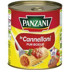 Panzani Cannelloni pur bœuf, viande bovine française 800g