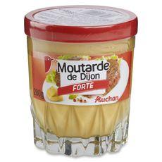 AUCHAN Auchan moutarde forte verre whisky bas 280g 280g