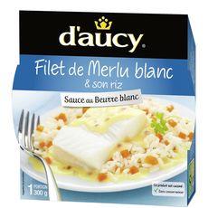 D'Aucy filet de merlu micro-ondable 300g