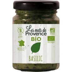 LES METS DE PROVENCE Basilic bio sans gluten cuisiné en France 90g