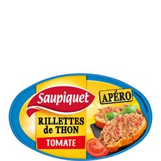 SAUPIQUET Saupiquet Rillettes apéro de thon à la tomate 115g 115g