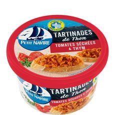 PETIT NAVIRE Petit Navire les tartinades thon tomates séchées thym 125g