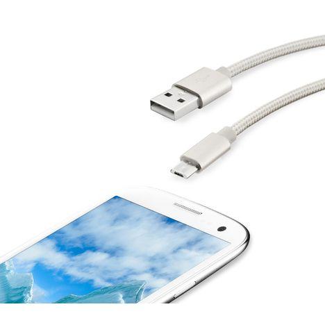 QILIVE Câble Micro USB - Silver