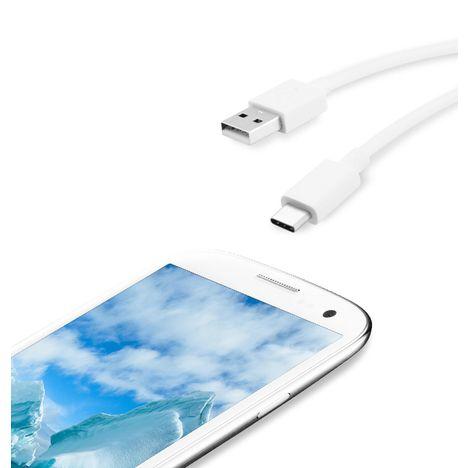 QILIVE Câble USB-C - Blanc