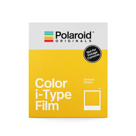 POLAROID Papier photo Color i-Type - Pack de 8 instant photo