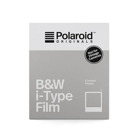 POLAROID B&W i-Type Film - Papier photo couleur