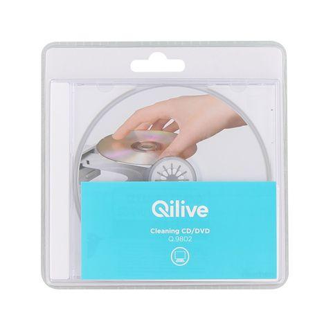 QILIVE Nettoyant pour CD/DVD