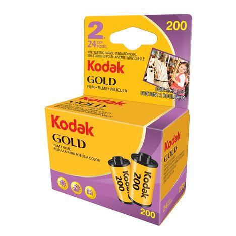 KODAK GOLD - Pack de Pellicules 2 x 24 poses - 200 ASA