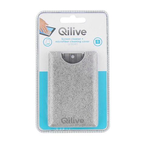 QILIVE Nettoyant écran 20 ml + chiffon micro fibre