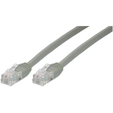 QILIVE Connectique Câble ADSL Mâle-Mâle Gris