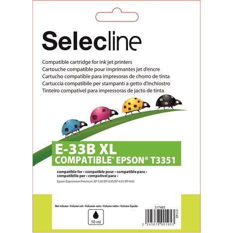 SELECLINE Cartouche Noir E-3351 XL