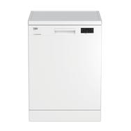 BEKO Lave-vaisselle pose libre LAP65W2, 15 couverts, 60 cm, 45 dB, 6 Programmes