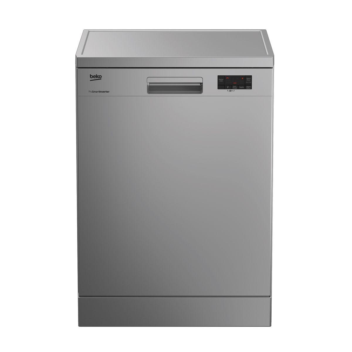 Lave-vaisselle pose libre LAP65S2, 15 couverts, 60 cm, 45 dB