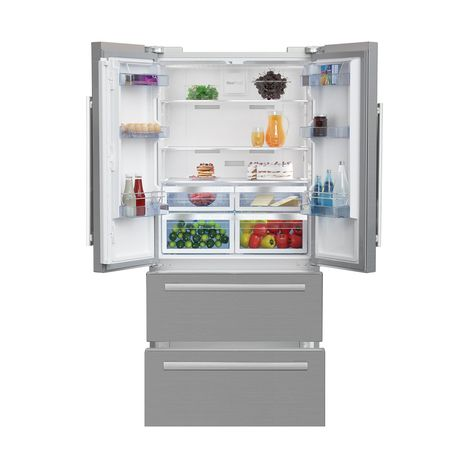 Réfrigérateur-congélateur américain BEKO GNEV 321APX Frigo Tiroir