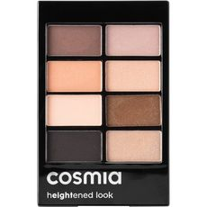 Cosmia ombre à paupières palette nude 8 couleurs T1