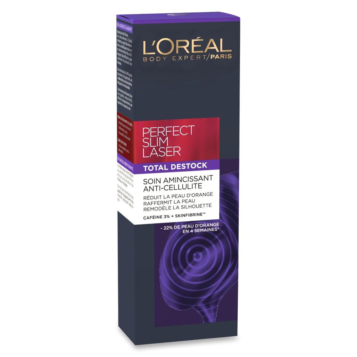 L'Oréal body expert perfect slimlaser total destock 125ml
