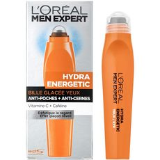 Men expert hydra energetic roll on yeux 10ml