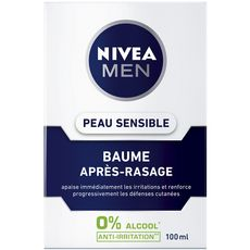 Nivea Men baume après-rasage peau sensible 100ml
